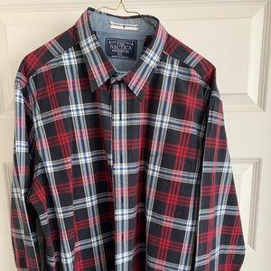 nautica casual button down shirt size XL